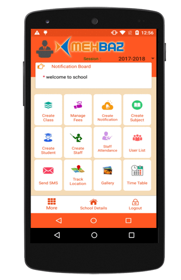 mobile app for schools